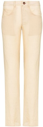 Anémone Juliana straight leg trousers