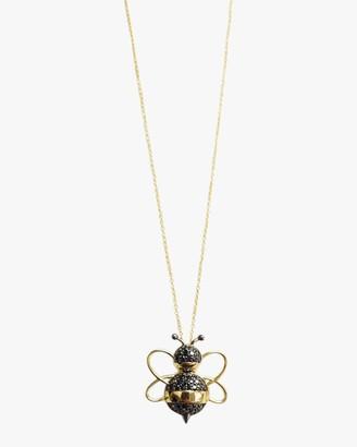 Roberto Coin Diamond Bee Pendant Necklace