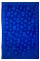 Alexander McQueen Tonal Skull Beach Towel