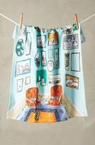 Anthropologie Post-Impressionism Tea Towel