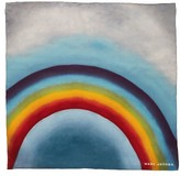 Marc Jacobs Women's Rainbow Square Silk Scarf