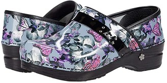 Sanita Orchid Bloom (Grey) Women's Shoes