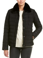 The Kooples Quilted Down Coat.