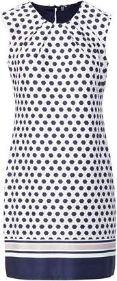Dorothy Perkins Womens *Izabel London Beige Geometric Print Shift Dress, Beige