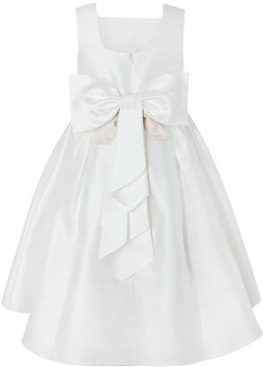 Monsoon Girls Cynthia High Low Dress - Ivory