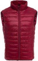 YOUJIA Men's Ultra Light Down Jacket Warm Packable Down Vest Coat (, M)