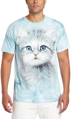 The Mountain Blue Eyed Kitten Adult T-Shirt