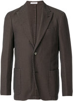 Boglioli waffle single breasted jacket - men - Cotton/Cupro - 46