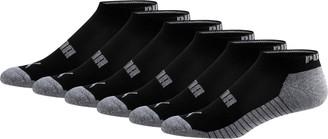 Puma Wordmark 1/2 Terry Mens Low Cut Socks [6 Pack]