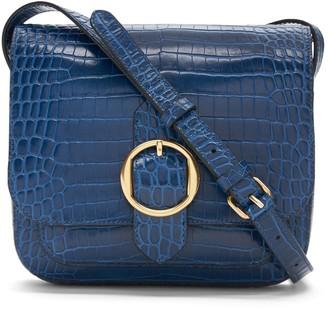 Banana Republic Leather Saddle Bag