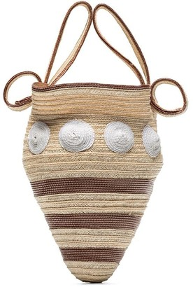 Rosie Assoulin Shell Woven Mini Bag