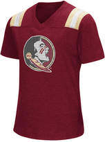 Colosseum Girls' Florida State Seminoles Rugby T-Shirt