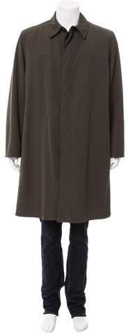Giorgio Armani Fur-Lined Car Coat