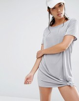 Missguided Slinky Knot Front Dress
