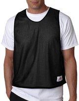 Badger Sportswear Men's Sleeveless Reversible Tank Top, Black/ White