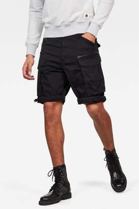 G Star Mens G-Star Beige Rovic Zip Pocket Short - Black