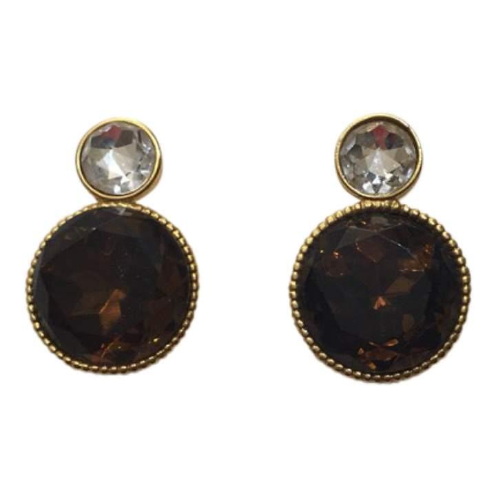 Gianfranco Ferre Gold Metal Earrings