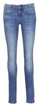 G Star MIDGE MID STRAIGHT women's Jeans in Blue