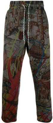 Vivienne Westwood All-Over Print Trousers