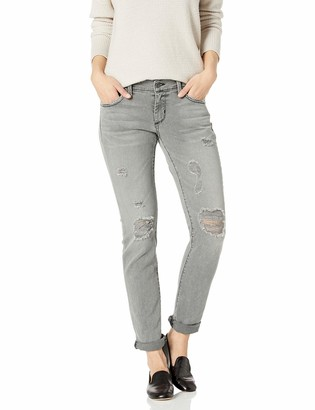 James Jeans Women's Neo Beau Girlfriend Jean in Smoke