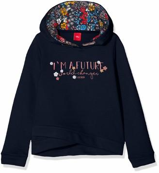 S'Oliver Girls' 53.909.41.2700 Sweatshirt