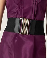 Wide Elastic Webbing Belt