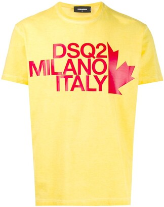 DSQUARED2 text logo print T-shirt