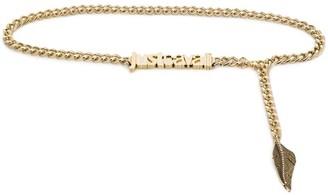 Just Cavalli Chain Logo Belt