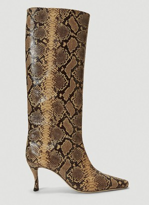 BY FAR Stevie Animal Print Boots