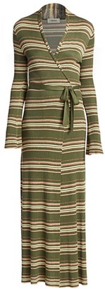 L'Agence Marija Striped Duster Cardigan