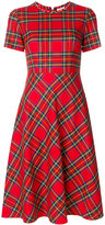 P.A.R.O.S.H. tartan check dress
