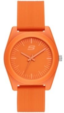 Skechers Ocean Gate Three-Hand Silicone Watch 40MM