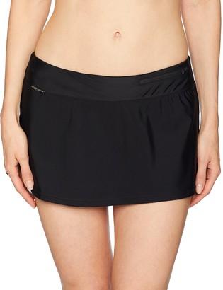 ZeroXposur Women's Swim Skirt Bottom with Brief