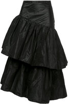 Isa Arfen asymmetric ruffled skirt