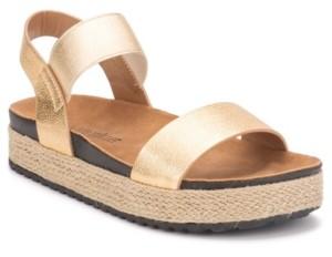 OLIVIA MILLER Women's Let's Go Platform Sandals Women's Shoes