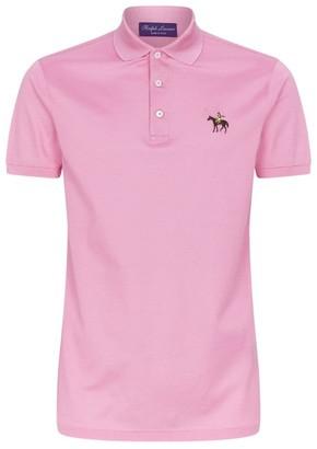 Ralph Lauren Purple Label Cotton Polo Shirt