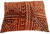 One Kings Lane Vintage Malian Mud Cloth Pillow