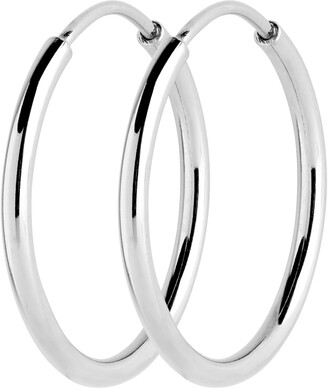 Maria Black Senorita 25mm Endless Hoop Earrings