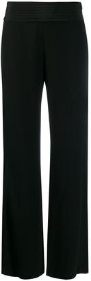 Karl Lagerfeld Paris Tailored Wide Leg Trousers