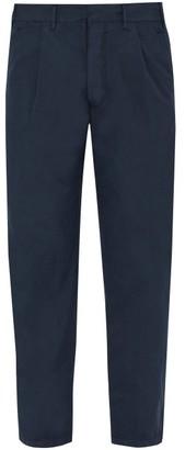 The Gigi - Santiago Cotton Trousers - Mens - Navy