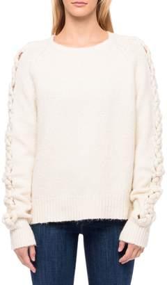 Line Magda Crewneck Cotton-Blend Sweater