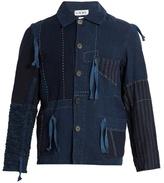 Loewe Contrasting-panel drawstring jacket