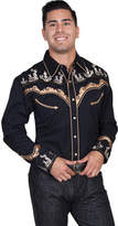 Scully Men's P-847 - Black Western Clothing