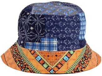 Be Your Own Style BYOS Packable Reversible Black Printed Fisherman Bucket Sun Hat Many Patterns - - One Size