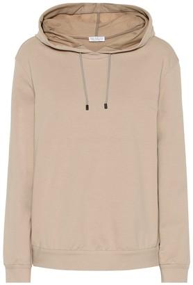 Brunello Cucinelli Stretch-cotton hoodie