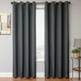 Bed Bath & Beyond Romi 84-Inch Grommet Top Window Panel in Grey