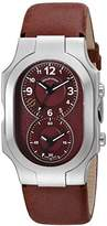 Philip Stein Teslar Unisex 200-WLBG-CVMN Swiss Signature Analog Display Swiss Quartz Red Watch