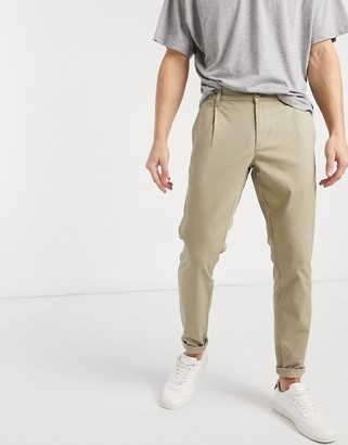 ONLY & SONS slim fit chinos in sand