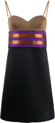 Gianfranco Ferré Pre Owned 1990s Colour Block Dress