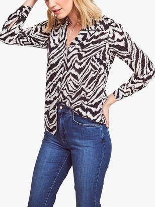 Sosandar Zebra Shirt, Black/White